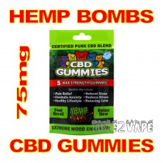 HEMP BOMBS CBD GUMMIES 75mg