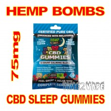 HEMP BOMBS CBD SLEEP GUMMIES  75mg