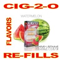 CIG-2-O FLAVORED CARTOMIZERS 5-PACK WATERMELON