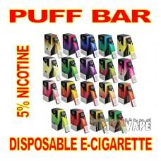 PUFF BAR DISPOSABLE E-CIGARETTE