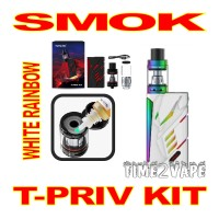 SMOK T-PRIV 220W KIT WHITE RAINBOW