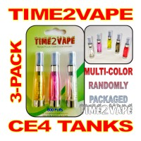 TIME2VAPE CE4 CLEAROMIZER 3-PACK