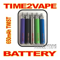 TIME2VAPE 650mAh TWIST REPLACEMENT BATTERY