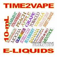 TIME2VAPE PREMIUM 10mL E-LIQUID