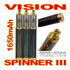 VISION SPINNER III CARBON 1650mAh BATTERY