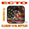 ECTO E-LIQUID 12mL BOTTLE AMERICAN TOBACCO 24mg
