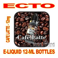 ECTO E-LIQUID 12mL BOTTLE CAFE LATTE 12mg