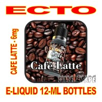 ECTO E-LIQUID 12mL BOTTLE CAFE LATTE 6mg