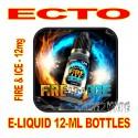 ECTO E-LIQUID 12mL BOTTLE FIRE & ICE 12mg