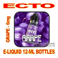 ECTO E-LIQUID 12mL BOTTLE GRAPE 6mg