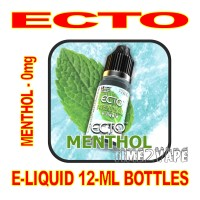 ECTO E-LIQUID 12mL BOTTLE MENTHOL 0mg