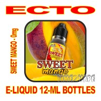 ECTO E-LIQUID 12mL BOTTLE SWEET MANGO 0mg