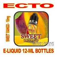 ECTO E-LIQUID 12mL BOTTLE SWEET MANGO 18mg