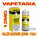 VAPETASIA KILLER KUSTARD LEMON 12MG - 100mL