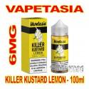 VAPETASIA KILLER KUSTARD LEMON 6MG - 100mL