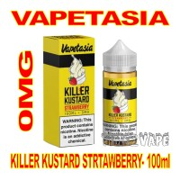 VAPETASIA KILLER KUSTARD STRAWBERRY 0MG - 100mL