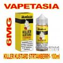 VAPETASIA KILLER KUSTARD STRAWBERRY 6MG - 100mL