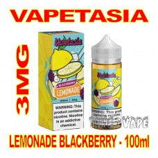 VAPETASIA LEMONADE BLACKBERRY 3MG - 100mL