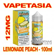 VAPETASIA LEMONADE PEACH 12MG - 100mL