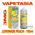 VAPETASIA LEMONADE PEACH 3MG - 100mL