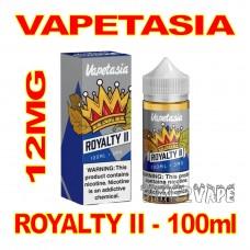 VAPETASIA SIGNATURE ROYALTY II 12MG - 100mL