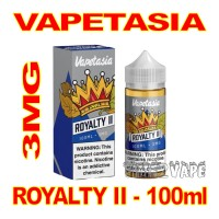 VAPETASIA SIGNATURE ROYALTY II 3MG - 100mL