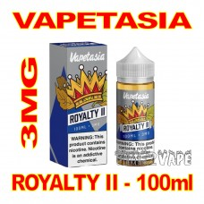 VAPETASIA SIGNATURE ROYALTY II 3MG - 100mL