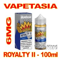 VAPETASIA SIGNATURE ROYALTY II 6MG - 100mL