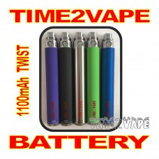 TIME2VAPE 1100mAh TWIST REPLACEMENT BATTERY