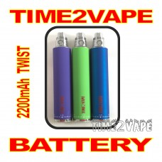 TIME2VAPE 2200mAh TWIST REPLACEMENT BATTERY