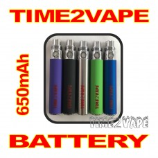 TIME2VAPE 650mAh REPLACEMENT BATTERY